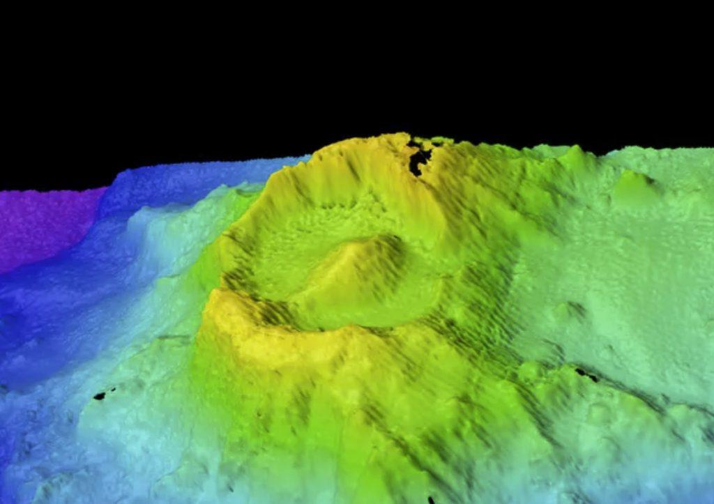 Eye of Sauron volcano, Christmas Island new underwater volcano eye of sauron
