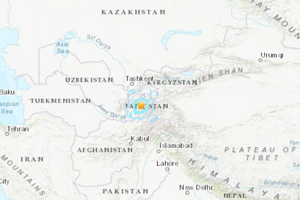 deadly earthquake tajikistan july 10 2021, deadly earthquake tajikistan july 10 2021 video, deadly earthquake tajikistan july 10 2021 photo, deadly earthquake tajikistan july 10 2021 map, A deadly earthquake killed 5 and destroyed 20 homes in Tajikistan on July 10 2021