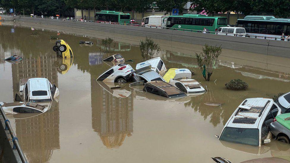 extraordinary floods henan china july 2021, floods henan, henan flooding