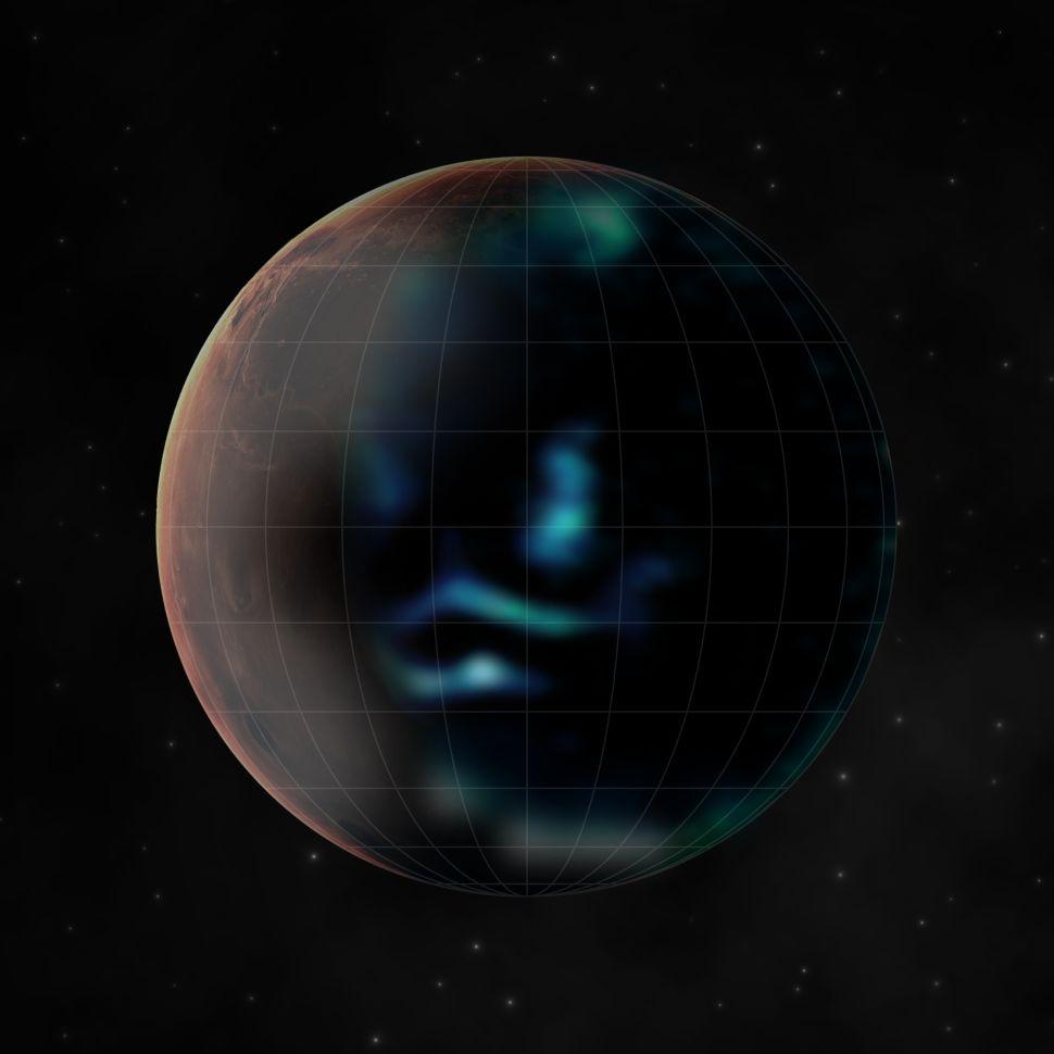 mars aurora, UAE Hope Mars orbiter spots elusive aurora on Mars for the first time