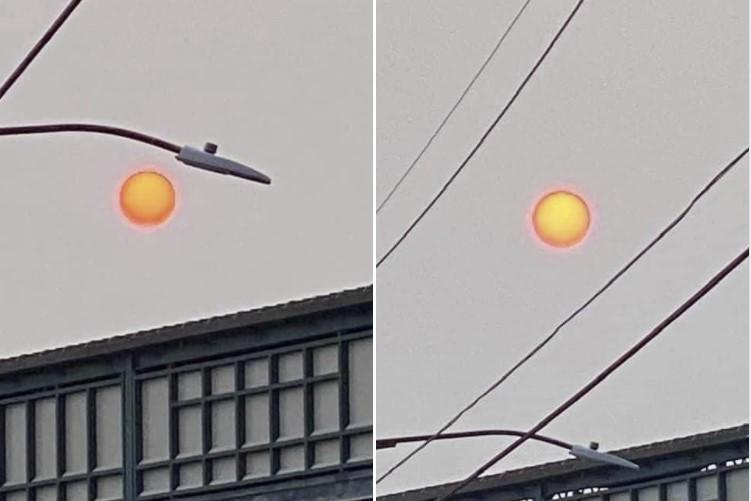 strange sun wildfire usa