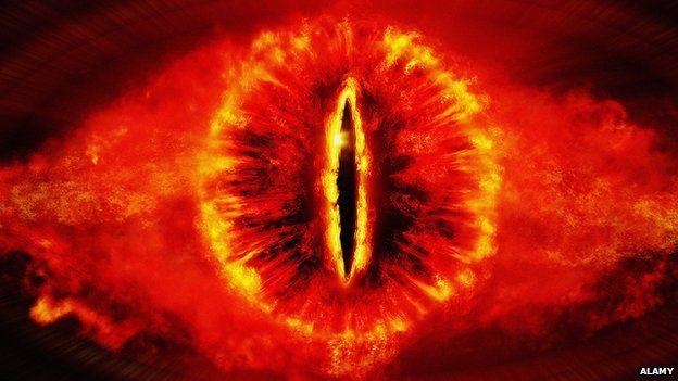 The Eye of Sauron, The Eye of Sauron volcano, The Eye of Sauron volcano christmas islands