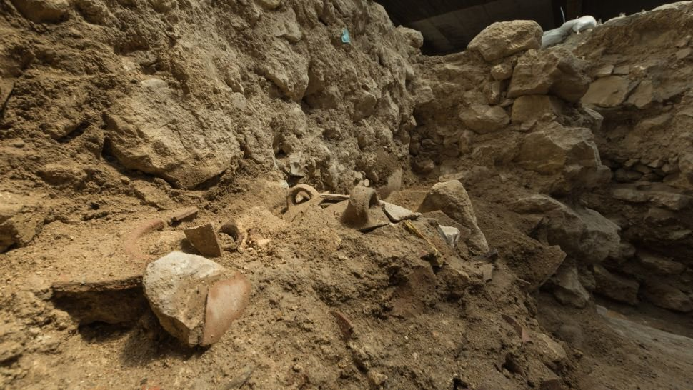 Evidence for biblical earthquake found in City of David