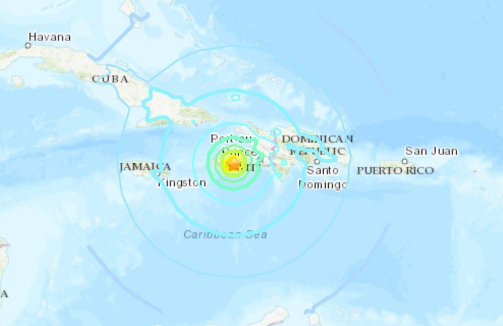 M7.2 earthquake hits Haiti on August 14 2021, M7.2 earthquake hits Haiti on August 14 2021 pictures, M7.2 earthquake hits Haiti on August 14 2021 video, M7.2 earthquake hits Haiti on August 14 2021 caribbeans