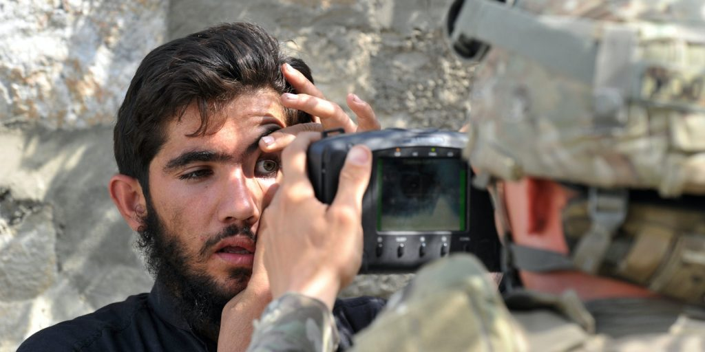 The Taliban has grabbed the US Army biometric devices, taliban, afghanistan, war, terrorism, technology