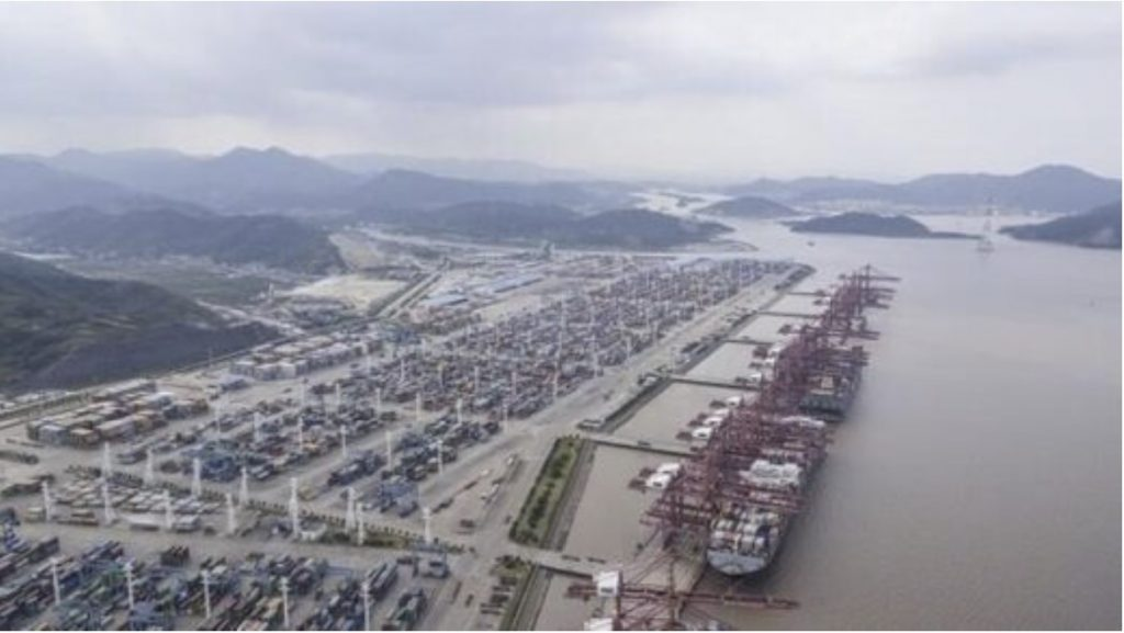 World's third-busiest port remains partially shut in China for the sixth consecutive day