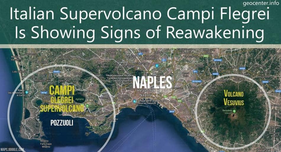 Campi Flegrei M2.2 earthquake