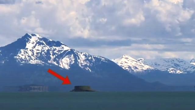 mirage fata morgana glacier bay national park and preserve, UFO spotted 'hovering over sea in Alaska' is actually bizarre scientific phenomenon