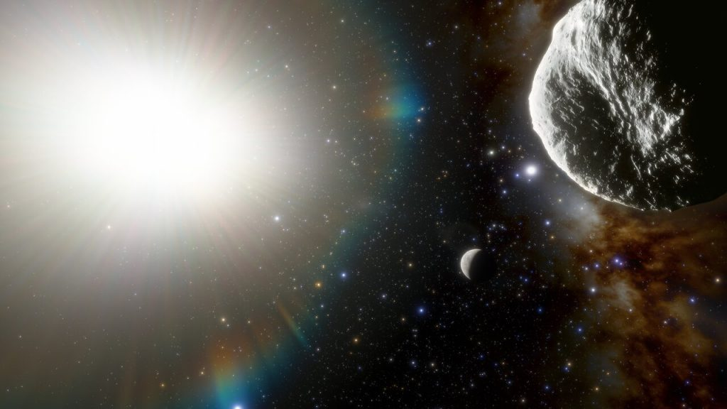 asteroid 2021 PH27. CTIO / NSF / NOIRLab / Aura / J. da Silva