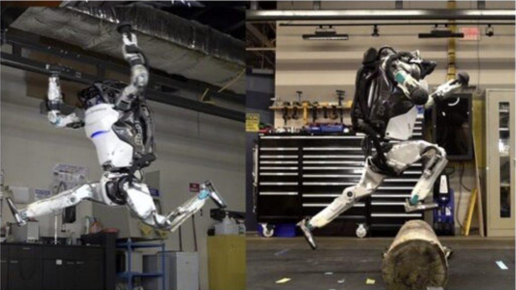 robots parkour video, boston dynamics robots parkour video, boston dynamics, robots boston dynamics video