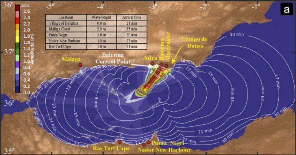 tsunami andalusia, andalusia tsunami risk, tsunami risk andalusian coast