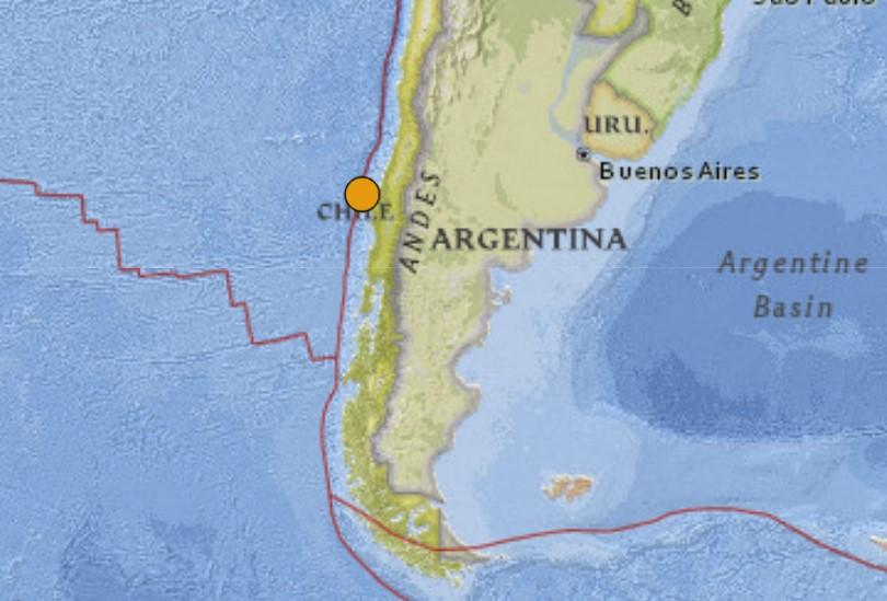 Argentina earthquake September 23 2021