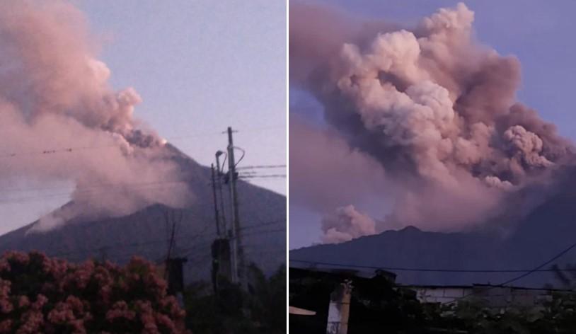 Fuego volcanic eruption in Guatemala, Fuego volcanic eruption in Guatemala video, Fuego volcanic eruption in Guatemala pictures