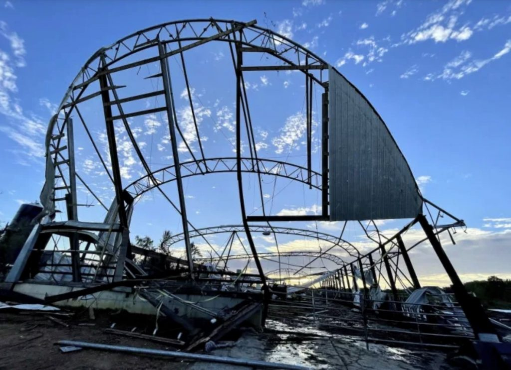New Jersey's largest dairy farm nearly destroyed in tornado, New Jersey's largest dairy farm nearly destroyed in tornado video, New Jersey's largest dairy farm nearly destroyed in tornado pictures, New Jersey's largest dairy farm nearly destroyed in tornado september 2021
