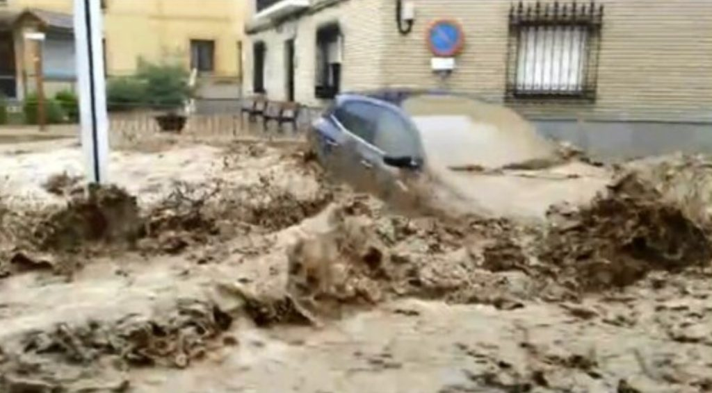 flooding spain, flooding spain video, flooding spain pictures, flooding spain september 2021