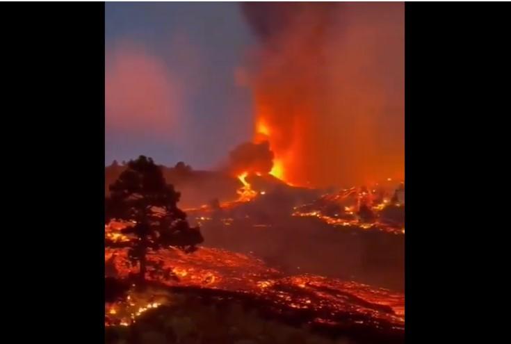 La Palma volcanic eruption update for September 21 2021, La Palma volcanic eruption update for September 21 2021 video, La Palma volcanic eruption update for September 21 2021 pictures, La Palma volcanic eruption update for September 21 2021 map