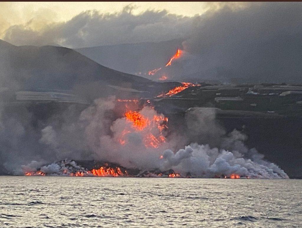 La Palma volcano eruption for September 30 2021