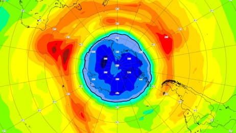 ozone hole is larger than antarctica