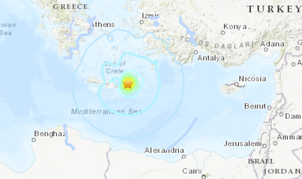 M6.4 earthquake Crete Greece map video pictures, M6.4 earthquake Crete Greece map video pictures october 12 2021, M6.4 earthquake Crete Greece map video pictures news, M6.4 earthquake Crete Greece map video pictures update