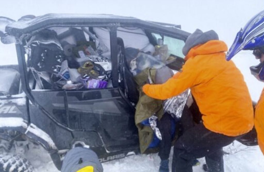 Runners rescued after early snowstorm halts ultramarathon in Davis County, Utah - 18 inches of snow reported