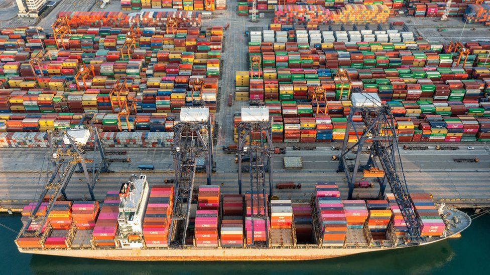 Shipping disruption and price inflation